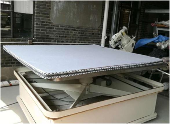 小工廠也能用床墊縫邊機